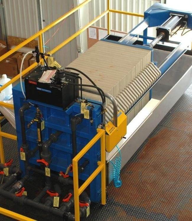 Перезарядчик установки декристаллизации каучука