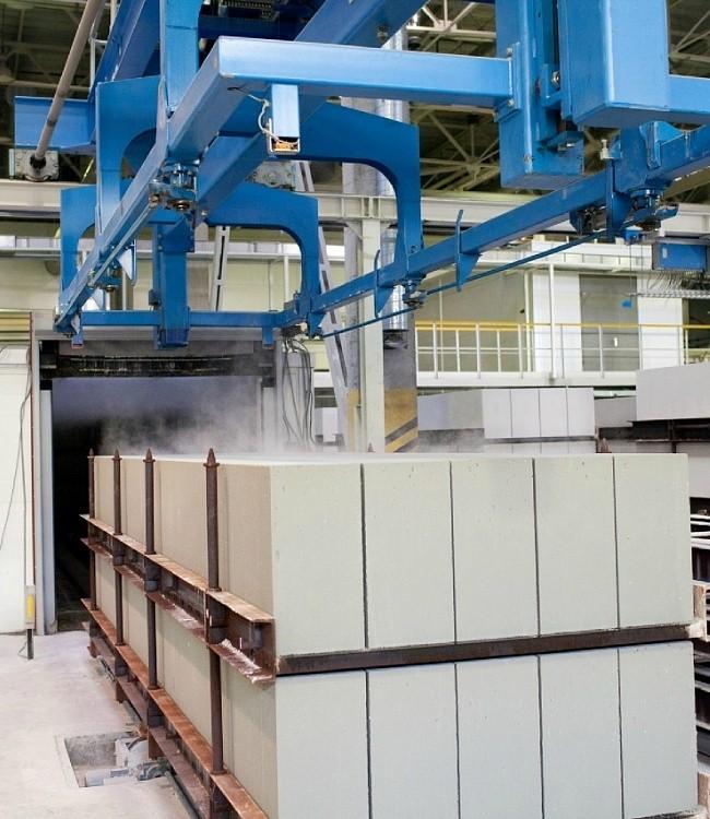 изготовление газосиликатных блоков