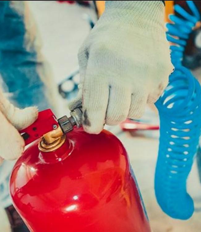 Зарядчик огнетушителей