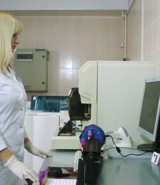 Лаборант рентгеноспектрального анализа