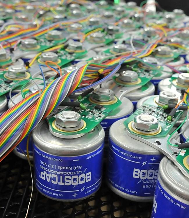 Намотчик секций силовых конденсаторов