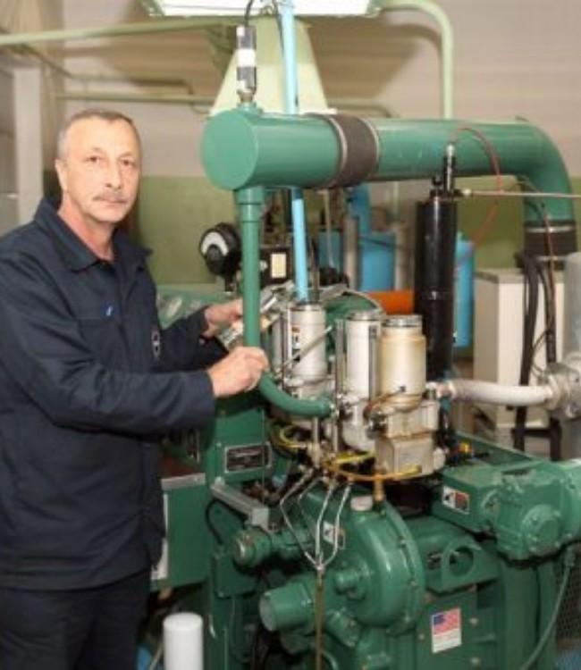 Машинист по моторным испытаниям топлива