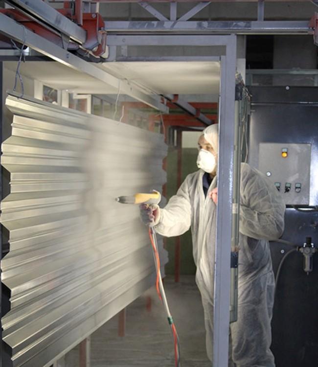 Машинист линии нанесения точечного полимерного покрытия