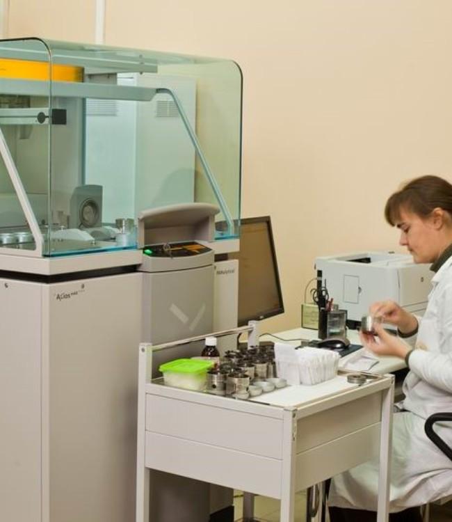 Лаборант спектрального анализа